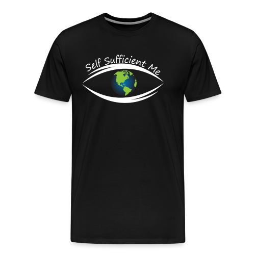 Self Sufficient Me Logo Large - Men's Premium T-Shirt