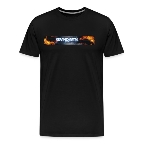 KevinDigital Black - Men's Premium T-Shirt
