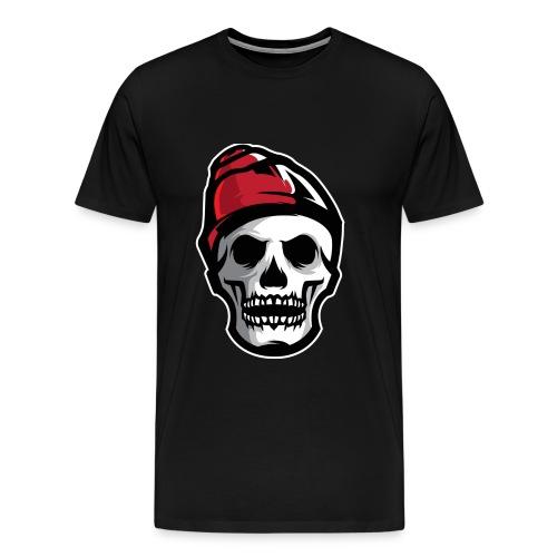 Custom Skull With Ice Cap Merch! - Men's Premium T-Shirt