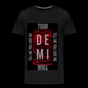 Demi Tell Me You Love Me Tour Shirt - Men's Premium T-Shirt