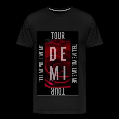Demi Tell Me You Love Me Tour Shirt - Men's Premium T-Shirt