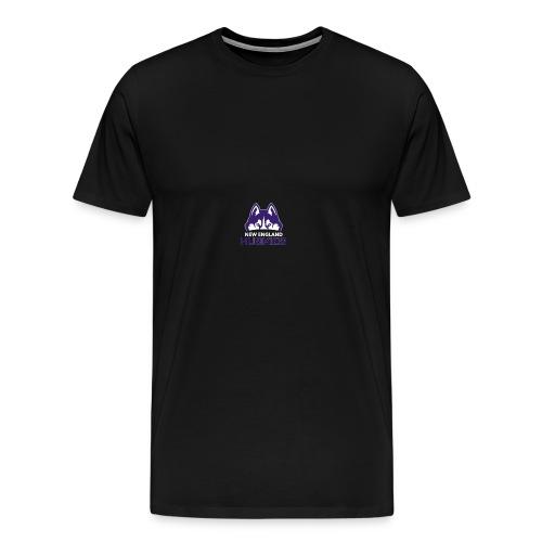 Huskies Logo #2 - Men's Premium T-Shirt