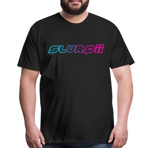 Slurpii Logo V2 - Men's Premium T-Shirt