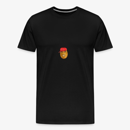 maga potato logo - Men's Premium T-Shirt