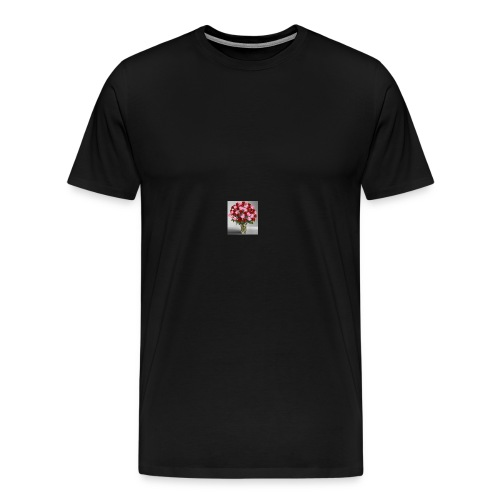 rose vase - Men's Premium T-Shirt