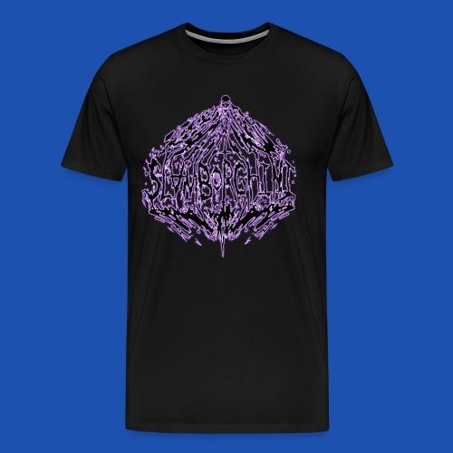 SLAMBORGHINI ELECTRIC PURP - Men's Premium T-Shirt