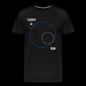PUBG - ZONE - Playerunknowns Battleground - Men's Premium T-Shirt