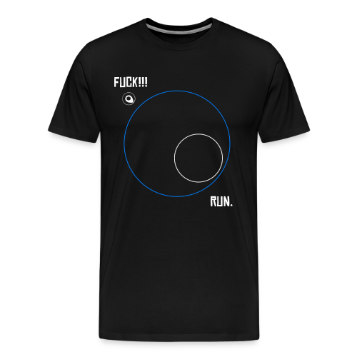 PUBG - ZONE - Playerunknowns Battleground - Men's Premium T-Shirt