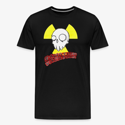 Radiation Vacation 01 - Men's Premium T-Shirt