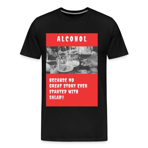 ALCOHOL STORY - Men's Premium T-Shirt