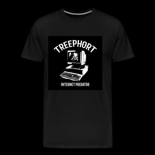 TREEPHORT: INTERNET PREDATOR MOTIF! - Men's Premium T-Shirt