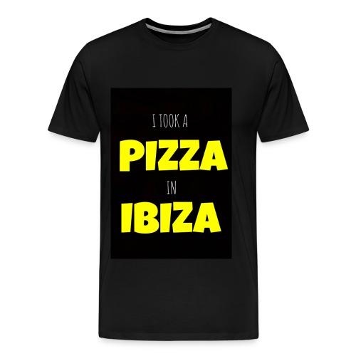 I took a Pizza in Ibiza - Men's Premium T-Shirt
