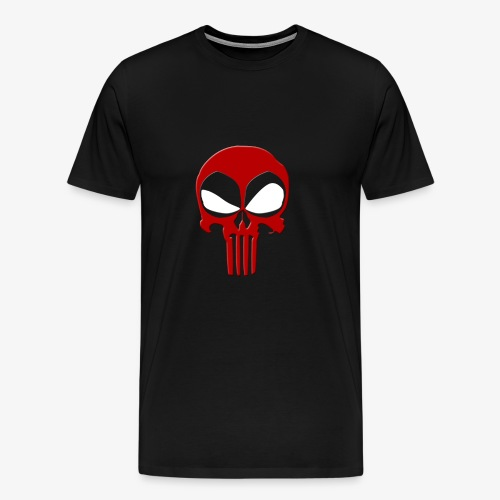 Deadpool & Punisher - Men's Premium T-Shirt