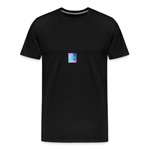 keep calm where jojo bows - Men's Premium T-Shirt