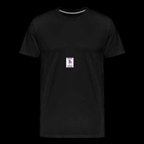 be awesome unicorn Phone case - Men's Premium T-Shirt