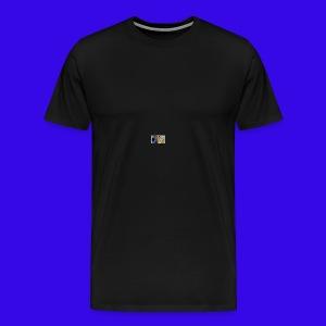 The Neiman Channel peace sign - Men's Premium T-Shirt