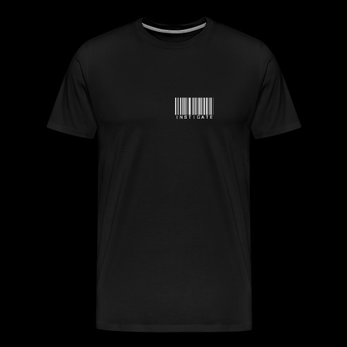 Instigate barcode - Men's Premium T-Shirt
