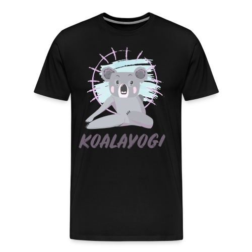Koalayogi - Men's Premium T-Shirt