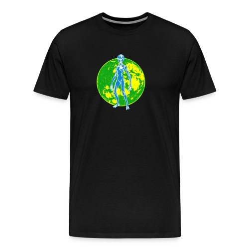 Alien Moon - Men's Premium T-Shirt