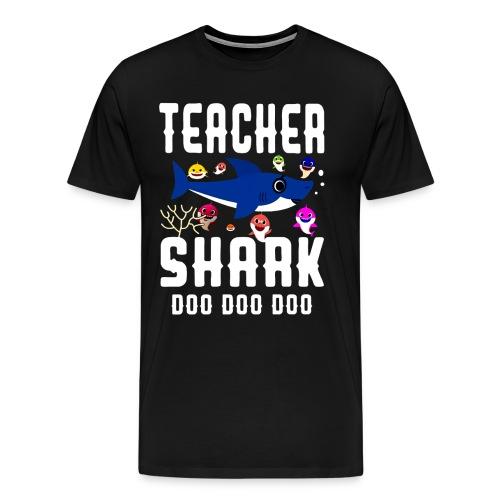 Teacher Shark Doo Doo Doo T-shirt - Men's Premium T-Shirt