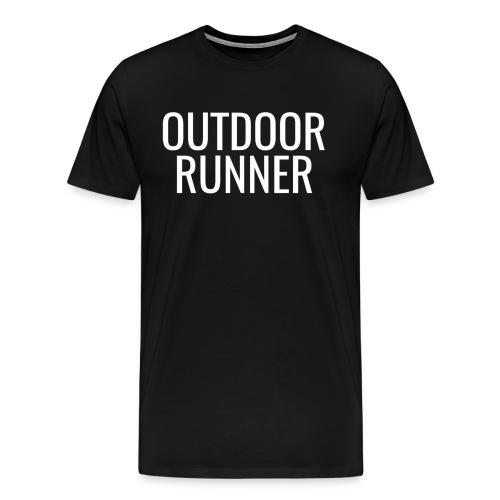 Outdoor Runner Unisex Shirt - Men's Premium T-Shirt