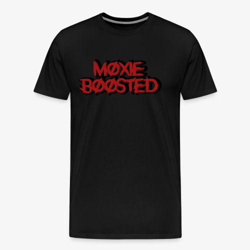 Moxie Boosted Logo - Men's Premium T-Shirt