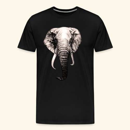 elephant Lover - Men's Premium T-Shirt