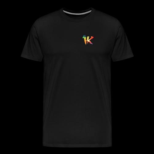 BURGER OG 1k LOGO - Men's Premium T-Shirt