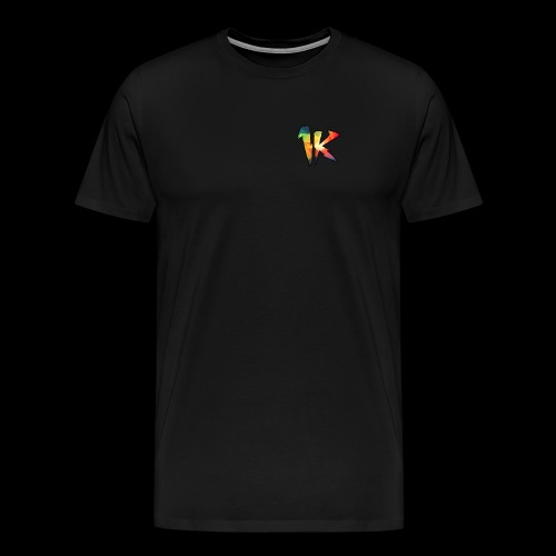 BURGER OG 1k LOGO - Men's Premium T-Shirt