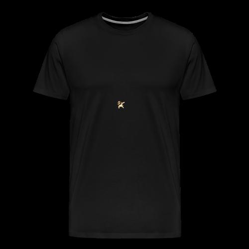 dog dab - Men's Premium T-Shirt