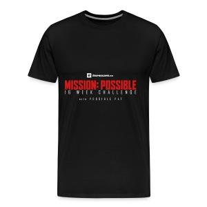 mission possible logo dark - Men's Premium T-Shirt