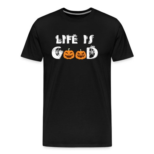 Cute Halloween Pumpkin Patch - Men's Premium T-Shirt