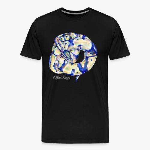 Monty the Ball Python - Men's Premium T-Shirt