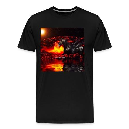 Monsterquake Seth Annoyed Album Coverart - Men's Premium T-Shirt