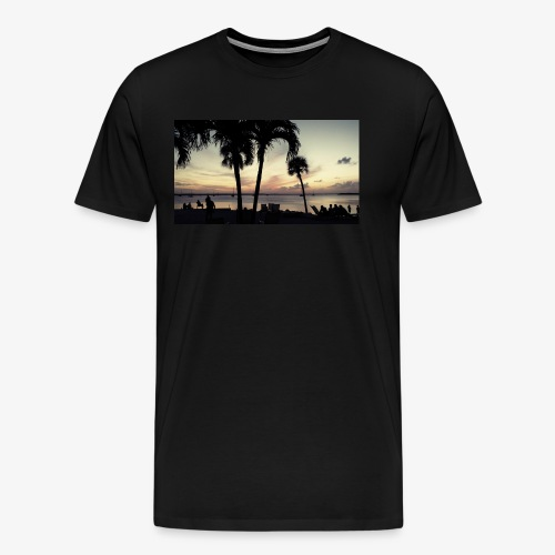 Key Largo | Coast Landscape 4 - Men's Premium T-Shirt