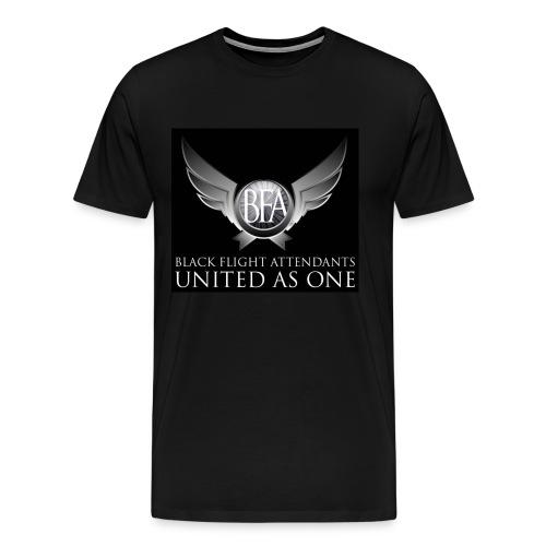 BFAU black n silver - Men's Premium T-Shirt