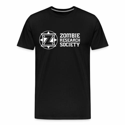 ZRS Logo Design - Men's Premium T-Shirt