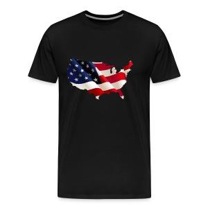 1331246 id 1331246 usa 7066x4506 - Men's Premium T-Shirt