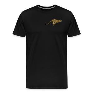 Cheetah Free PNG Image - Men's Premium T-Shirt