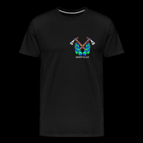Nikstalgic - Tomahawk White - Men's Premium T-Shirt