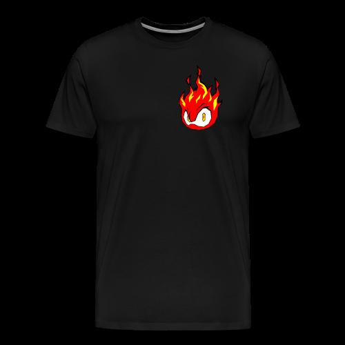 Fire Power YouTube Logo - Men's Premium T-Shirt