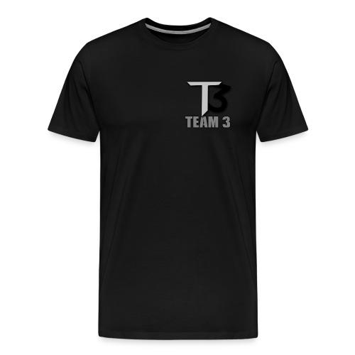 TEAM 3 LOGO - Men's Premium T-Shirt
