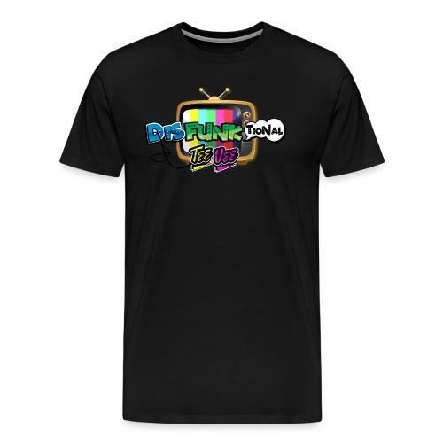 Disfunktional Tee Vee Logo - Men's Premium T-Shirt