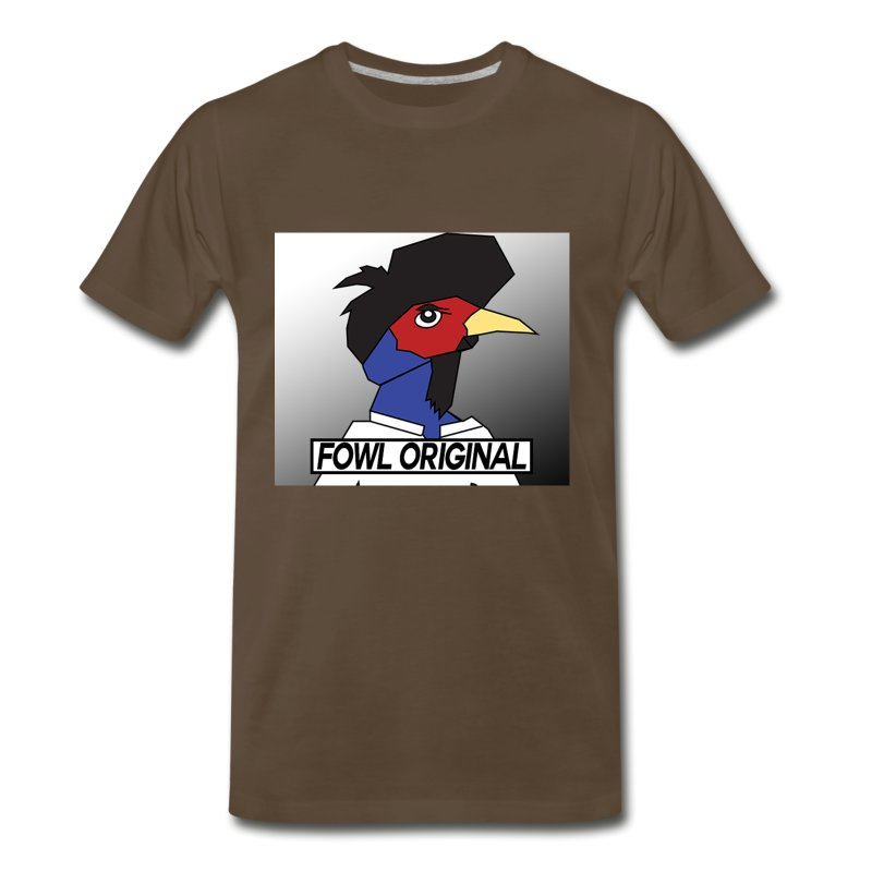 Fowl Original Logo - Men's Premium T-Shirt