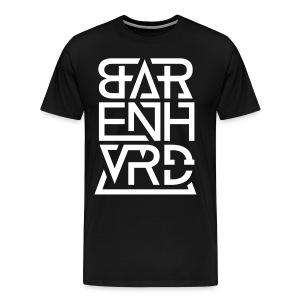 BARENHVRD LOGO 2016 V - Men's Premium T-Shirt