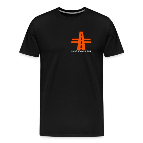 LIVING ROAD CHURCH logo small - Men's Premium T-Shirt