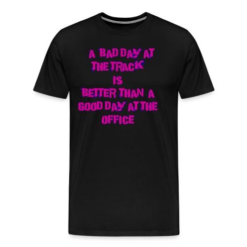 Track Day pink - Men's Premium T-Shirt