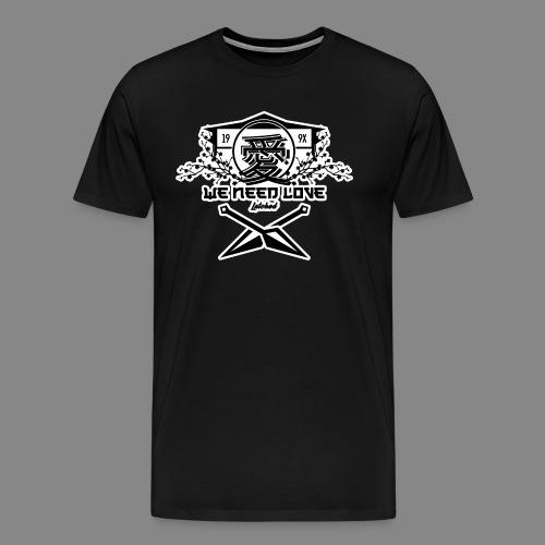We need love T-Shirt - Men's Premium T-Shirt