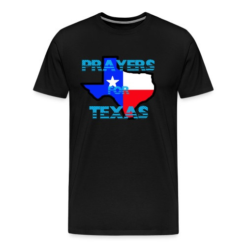 Prayers For Texas - Men's Premium T-Shirt