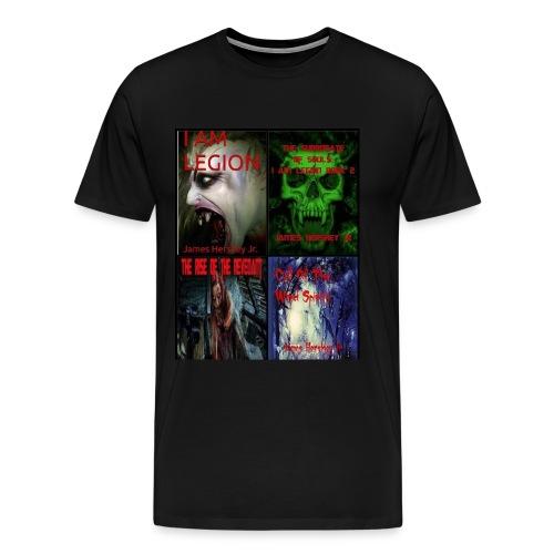 Horror Novels Collection - Men's Premium T-Shirt